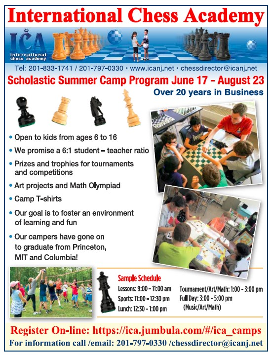 Chess Camp: 2019 Scholastic Summer Camp Program June 17Th