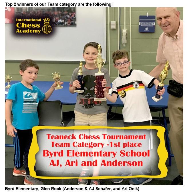 Byrd Elementary, Glen Rock (Anderson & AJ Schafer, and Ari Onik)