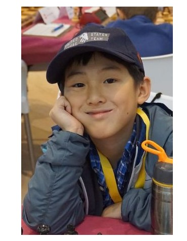 ICA student Alexander Wang