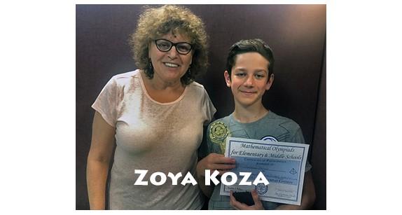 Mathematics teacher, Zoya Koza