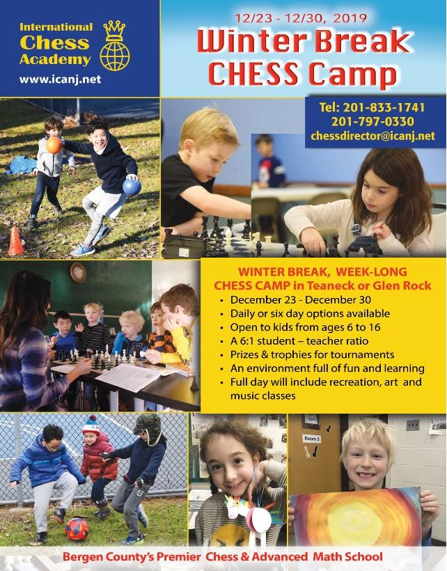 2019 Winter Chess Camp